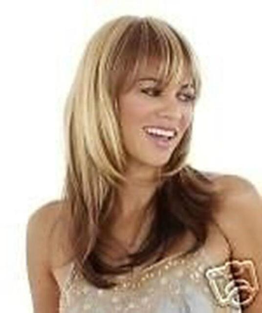 Wie Echthaar! Mode Wigs Neu Mode Blond Braun Mixed Frau Perücken