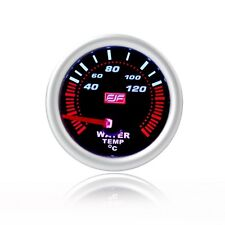 """2"""" 52mm silver tinted shell 40-120°C Car smoke Water Temperature Gauges Meters"""
