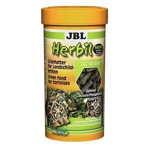 3 pièces Jbl Herbil, X 1l pack économique, aliment complet pour tortues