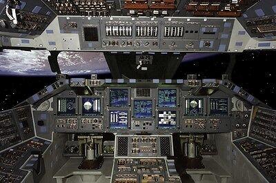 space shuttle cockpit poster - photo #16