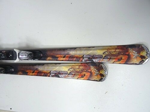 Ski Carving Nordica Hot Rod Flare mit Bindung, 152cm (EE772)