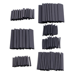 127pc Assorted Electrical Wire Cable Heat Shrink Tube insulation sleeving Wrap