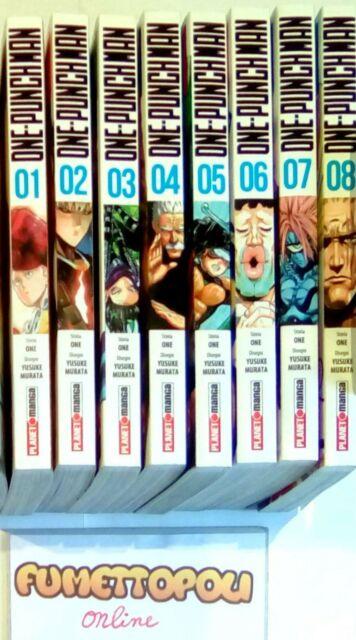ONE-PUNCH MAN Planet Manga scegli tra 21 numeri a 4,50/4,90€  Y.MURATA NUOVI!