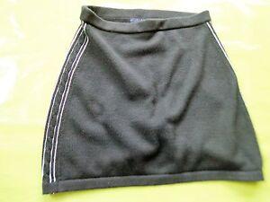 tommy-jeans-Rock-strick-Damen-EU-Gr-S-neu-schwarz-100-Baumwolle