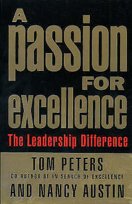 1 of 1 - Passion for Excellence, Austin, Nancy, Peters, Tom, Very Good Book