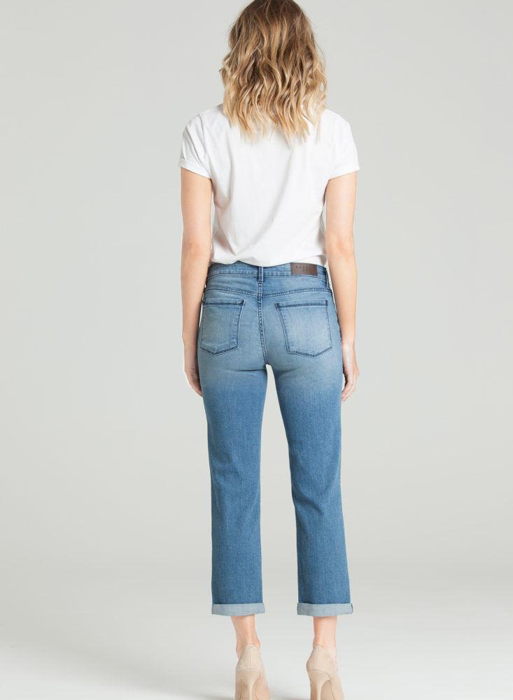 Nouveau Femme Parker Smith Courtney Crop in Lapis Jeans Größe 12 31