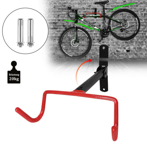 Fahrradwandhalte Fahrradhalter  klappbar Wandhalterung Standhalter Rack Haken#