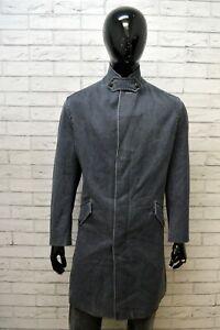 Trench-Uomo-HUGO-BOSS-Taglia-Size-50-Giacca-Cappotto-Jacket-Man-Giubbino-Lana
