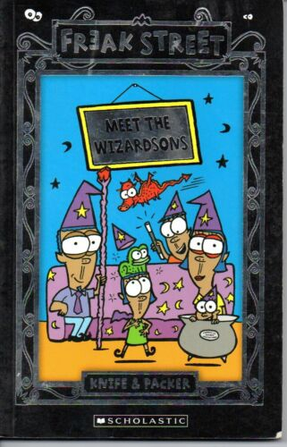 1 of 1 - Meet the Wizardsons by Knife & Packer (Paperback, 2008) *VGC*