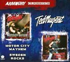 Motor City Mayhem/Sweden Rocks by Ted Nugent (CD, Jan-2014, 2 Discs, Armoury Records)