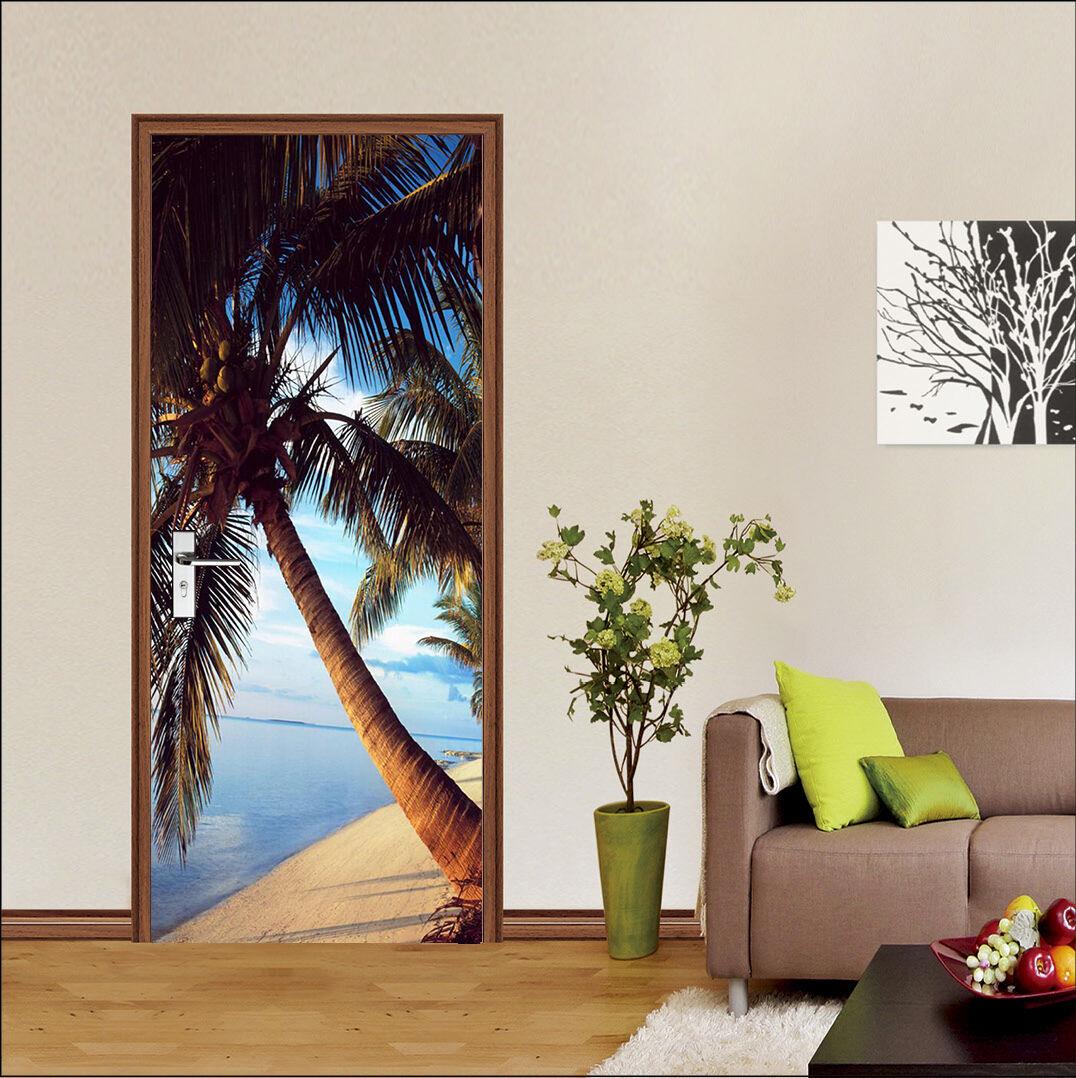 3D Palmen 78 Tür Wandmalerei Wandaufkleber Aufkleber AJ WALLPAPER DE Kyra  | Gewinnen Sie das Lob der Kunden  | Up-to-date-styling  | Gemäßigten Kosten