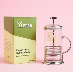 Alfred But First Coffee Fabfitfun French Press Limited Edition