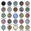 4mm-Rhinestone-Gem-20-Colors-Flatback-Nail-Art-Crystal-Resin-Bead thumbnail 2