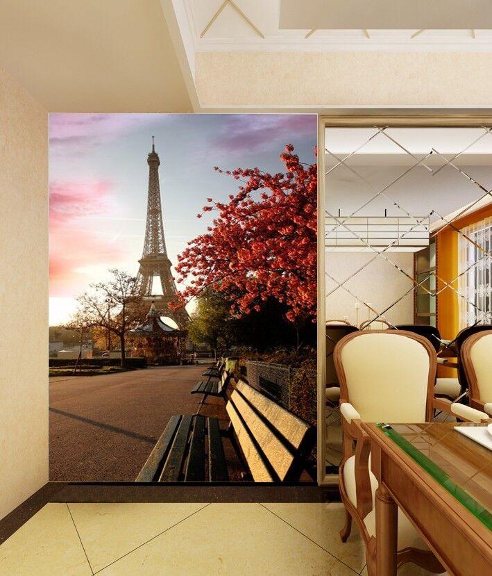 3D Eiffelturm Park 74 Tapete Wandgemälde Tapete Tapeten Bild Familie DE Summer