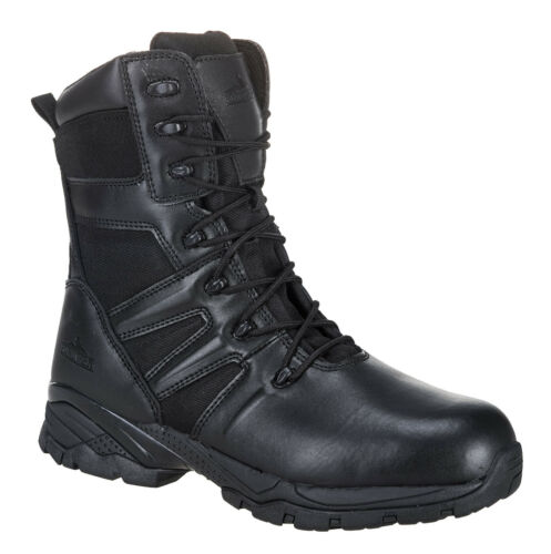 Lined Safety Boots High Leg work shoe Steelite groundwork boot Leather  FW65