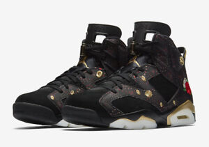 competitive price 2f227 1d641 germany air jordan 6 dmp black metallic gold defining moments pack 686cb  2444e  italy image is loading air jordan 6 retro cny chinese new year c9360  b6efd