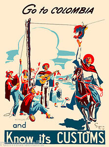 Go-to-Colombia-South-America-American-Vintage-Travel-Advertisement-Art-Poster