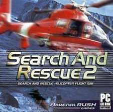 SEARCH and RESCUE 2   PC Helicopter Flight Sim  Win XP Vista 7 8   Brand New