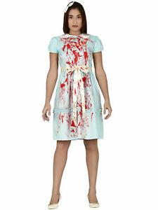 Women-Evil-Twins-Costumes-Adult-The-Shining-Costume-Horror-Halloween-Fancy-Dress