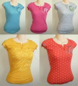 Womens-AEROPOSTALE-Waffle-Thermal-Henley-Shirt-Top-NWT-8727