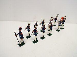 Bande de légionnaires français inconnus?   X 13 figurines 54 mm sans boîte (bs2191)