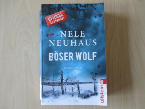 1 von 1 - Nele Neuhaus -  BÖSER WOLF - Bodenstein/Kirchhoff 6 - TB - (6630)