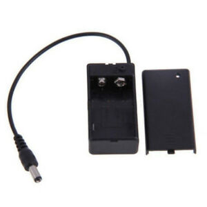 9V-Battery-Holder-BoxCase-Wire-Lead-ON-OFF-Switch-CoverWith-DC-5-5-2-1mm-Plug-YT