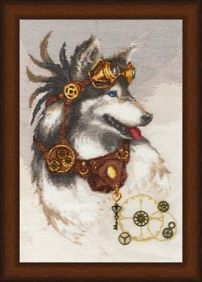 Counted Cross Stitch Kit GOLDEN FLEECE The Guardian of Time