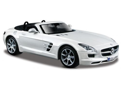MERCEDES BENZ SLS AMG 1:24 Car Metal Models Miniatures Cars Die Cast Model
