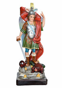 Statua-San-Michele-cm-90-In-vetroresina