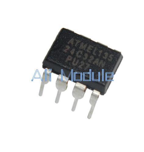 5PCS IC AT24C32 AT24C32A DIP 2-Wire Serial EEPROM Memory AF