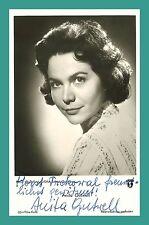 ANITA GUTWELL | Schauspielerin | Original-Autogramm auf Starpostkarte