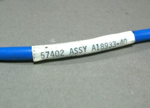 New Lockheed Martin 7 1//2 Ft Cable Assembly A18933-40 BNC Twin Pin Electronic