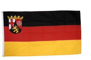 Rheinland - Pfalz Flag 5 x 3 FT - 100% Polyester With Eyelets Germany Province