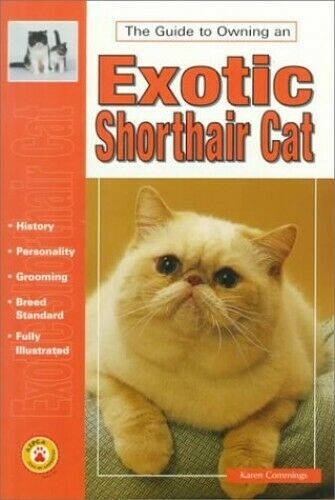 The Guide to Owning an Exotic Shorthair Cat by Commings, Karen Paperback Book
