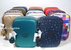 KIPLING-100-PENS-Large-Pencil-Case-Accessory-Make-Up-Bag