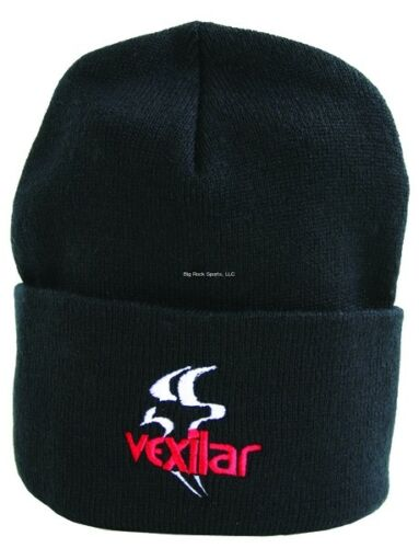 NEW Vexilar Stocking Hat Cap Black W//Logo CAP005