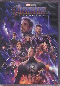 dvd-Marvel-AVENGERS-ENDGAME-Thor-Iron-Man-Hulk-Captain-America-Antman-nuovo-2019