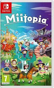 Miitopia (Switch) (NEU & OVP) (UNCUT) (Blitzversand)
