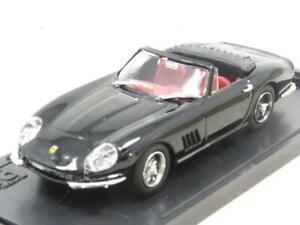 Caja-Modelos-Diecast-8428-Ferrari-275-GTB-Spyder-RUOTE-a-Raggi-1-escala-43-En-Caja