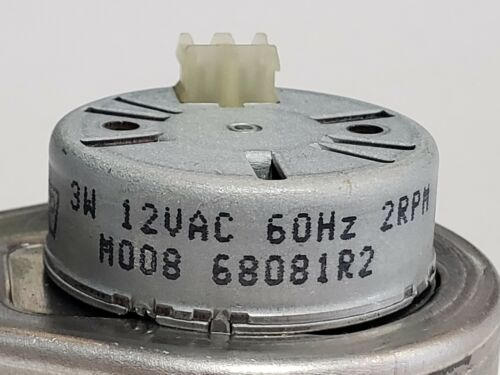 Quantity Available M008 Mallory Gearbox Motor 3W 12VAC 60Hz 2RPM