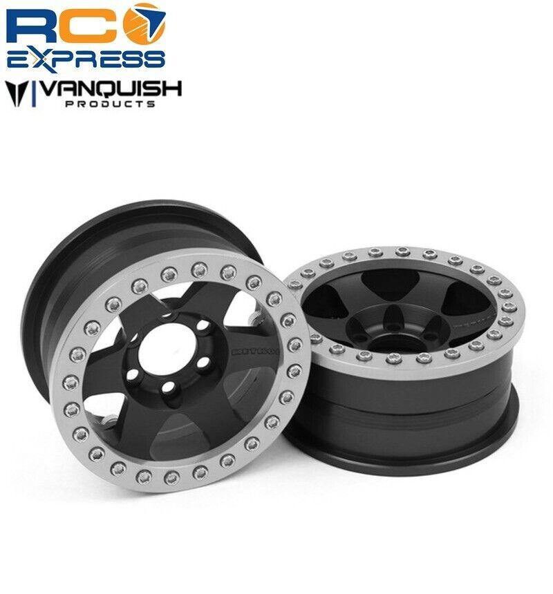 Vanquish Method 1.9 carrera rueda 310 Negro Anodizado VPS07763