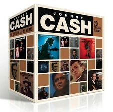 Johnny Cash 20 ORIGINAL ALBUMS BOX SET Perfect Collection BEST OF New 20 CD