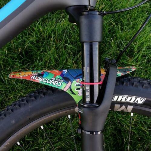 MTB Front Mudguard RideGuard PF1 Mountain Bike Fender Recycled Plastic UK Made.