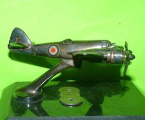 WW2 RAF Royal Air Force Bomber Bristol Blenhiem Airplane Silver Model