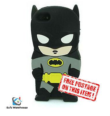 Batman Dark Knight Hero Silicone Rubber Apple iPhone / iPod Touch Case Cover