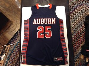 Details About Auburn Tigers Ladies Basketball Custom Jersey 25 Under Armour Sz L 12 Cool