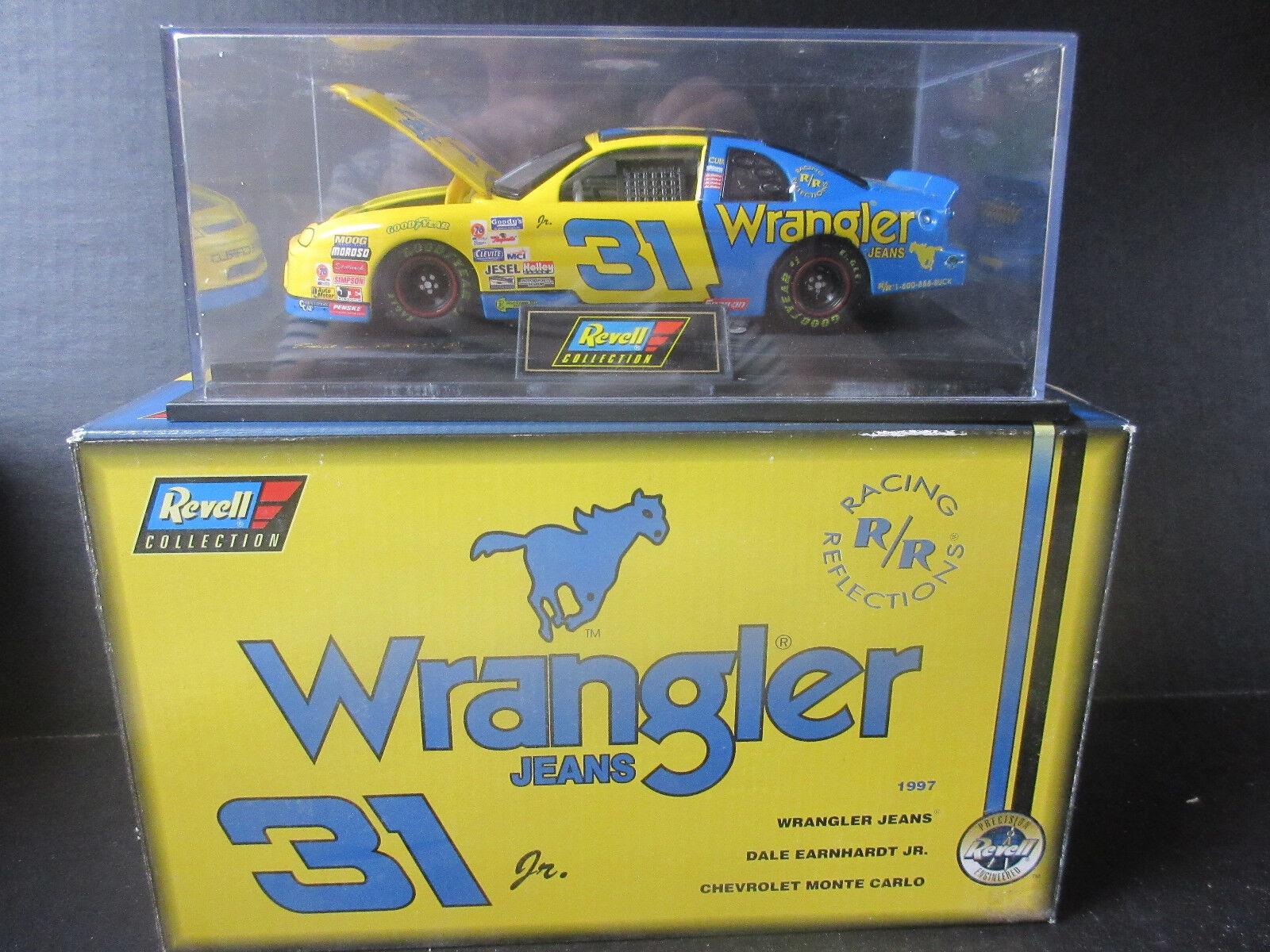1997 Revell  31 Dale Earnhardt Jr-Wrangler Jeans 1 24th Escala De NasCoche