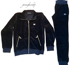 super star hip hop mens tracksuit slim fit black Akademiks velour jogging set