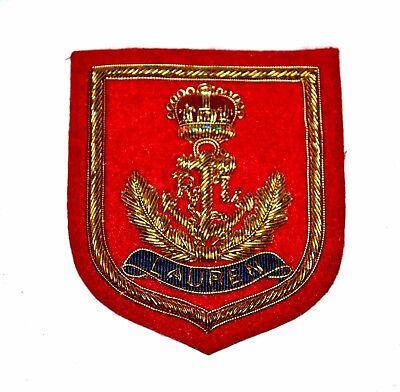 Vintage Ralph Lauren Logo Blazer Patch Red Anchor Crown Crest Embroidered RL16
